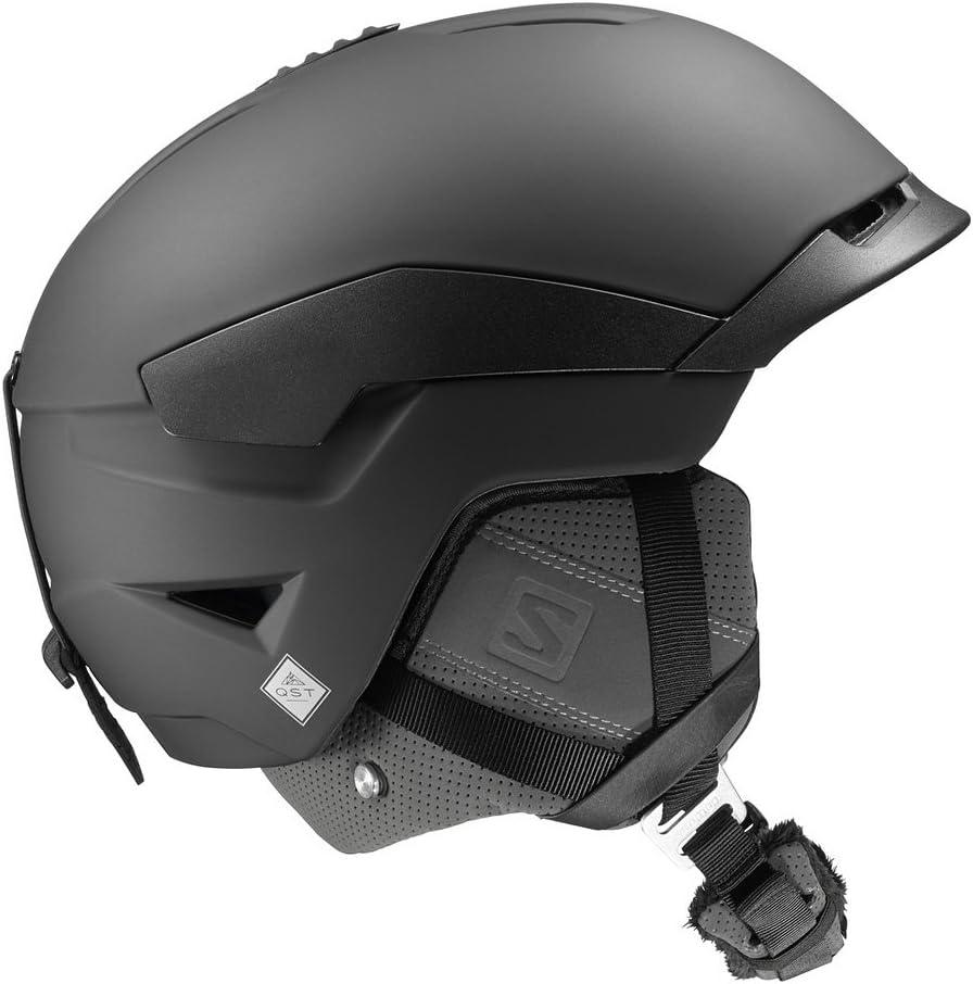 18-19 SALOMON (サロモン) ヘルメット QUEST 黒 クエスト スノーヘルメット スノーボード スキー  L(59-62)