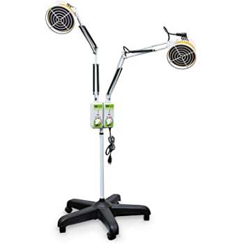 Amazon Com Tdp Lamp Double Head Tdp Heat Lamp With 5
