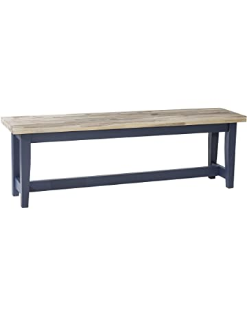 120cm Long Wooden Bench For Kitchen Dining Table Solid Wood