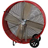 Ventamatic BF30DDRED 30 Red Direct Drive Barrel Fan