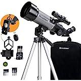 Celestron - 70mm Travel Scope DX - Portable Refractor Telescope - Fully-Coated Glass Optics - Ideal Telescope for Beginners -