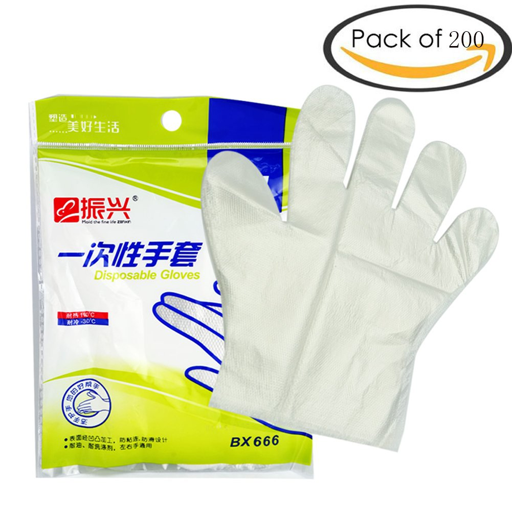 ROOS Disposable gloves-2 Pack of 200 Gloves (200)