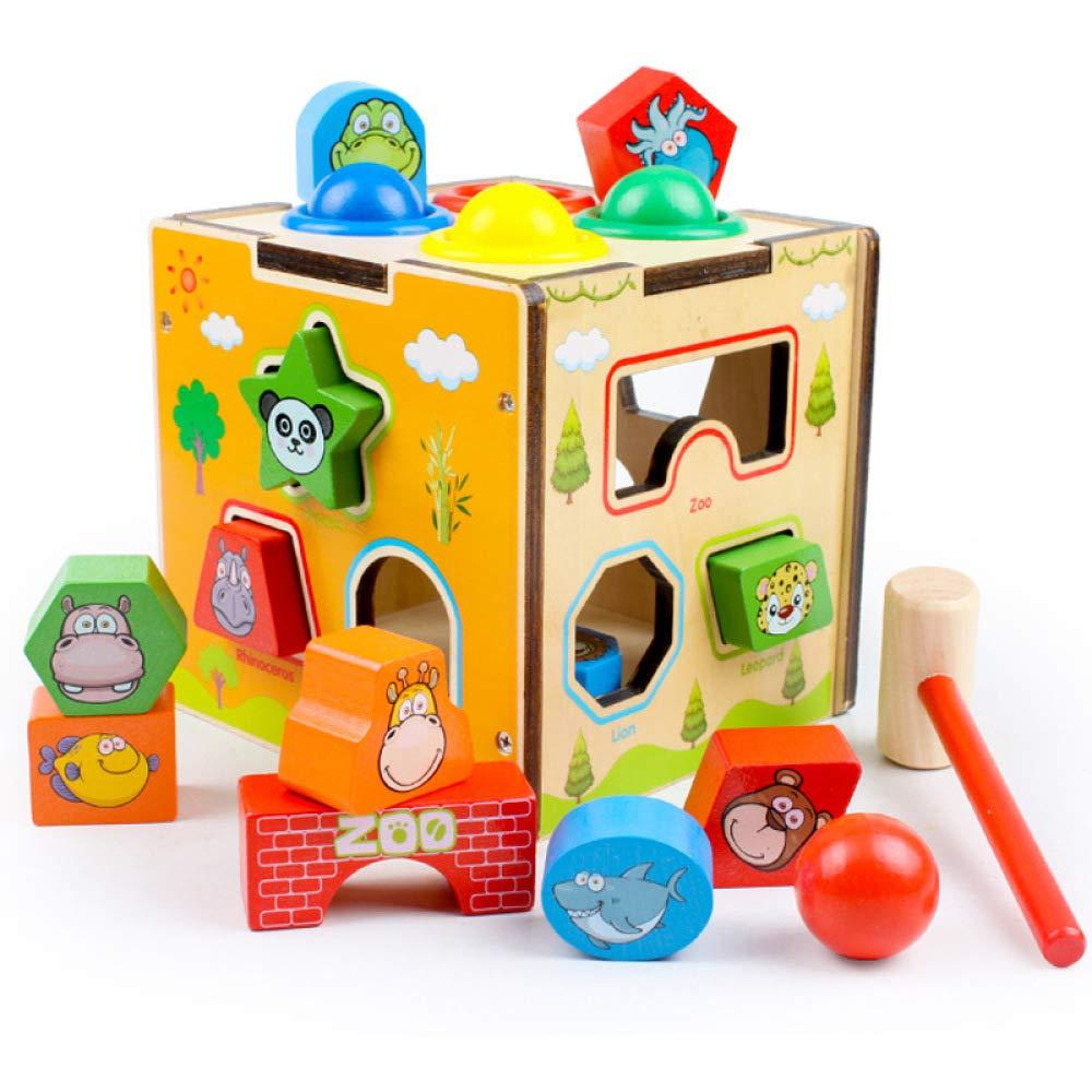 QXMEI Kinder Spielzeug Bausteine Puzzle Multifunktionsgröße: 5,7 Zoll  5,5 Zoll  5,5 Zoll