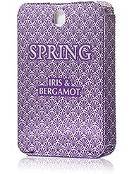 Spring Travel Size Perfume To Go, For Women Light, Eau de Parfum 0.67 oz (Iris & Bergamot)