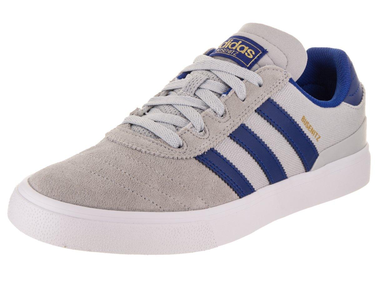 adidas Originals Men's Busenitz Vulc Fashion Sneaker 9 D(M) US|Light Grey Heather Solid Grey/Collegiate Royal/Footwear White
