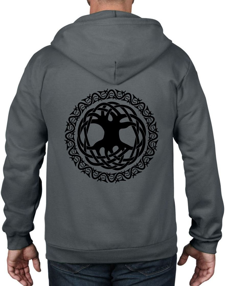 S Celtic Tree Of Life Full Shirts