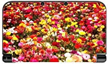 Flower Bed New 3DS XL 2015 Vinyl Decal Sticker Skin by Sorem Designs by Sorem Designs