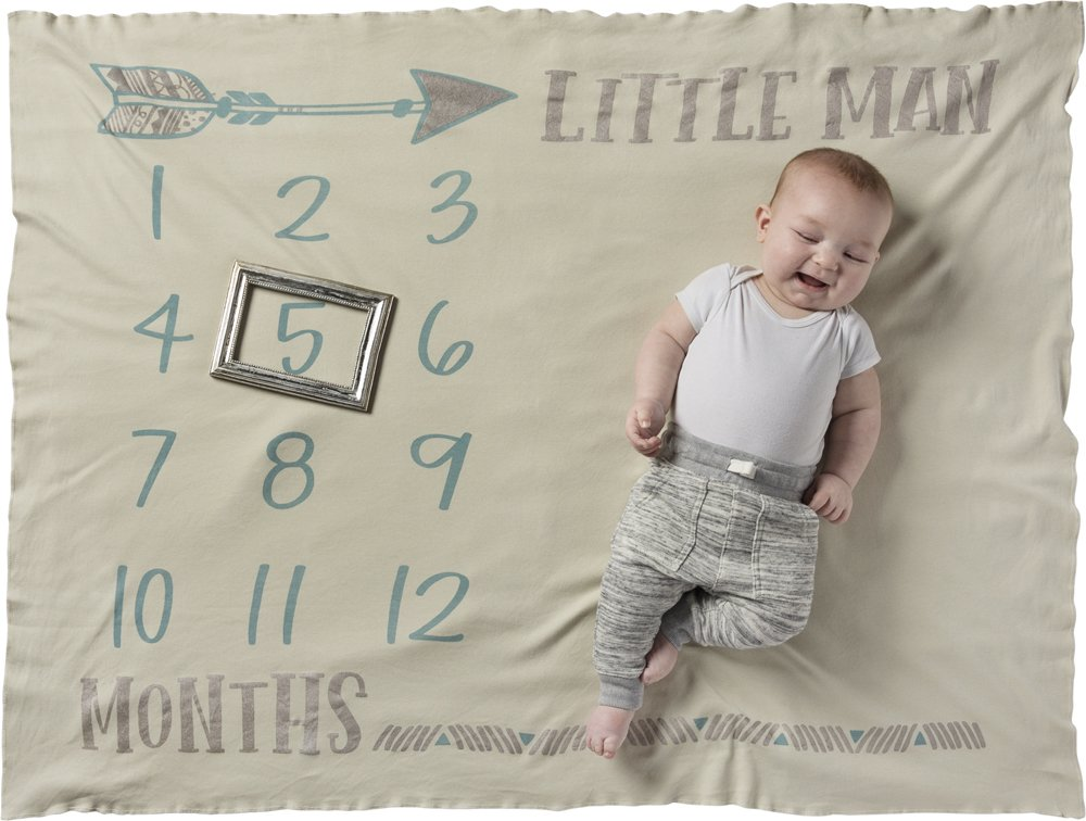 Swaddle Blanket - Little Man