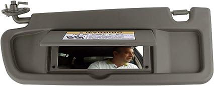 SAILEAD Left Driver Side Sun Visor for Honda Civic 83280-SNA-A01ZA 2006 2007 2008 Atlas Gray Visor Assembly