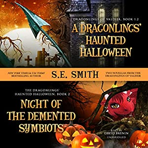 A Dragonling's Haunted Halloween and Night of the Demented Symbiots Audiobook