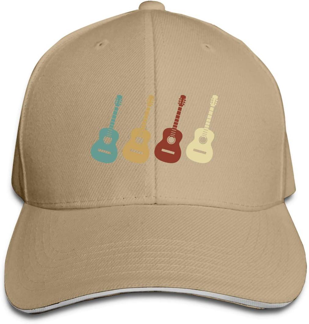 WFIRE Adult Baseball Caps Vintage Guitar Custom Adjustable Sandwich Cap Casquette Hats