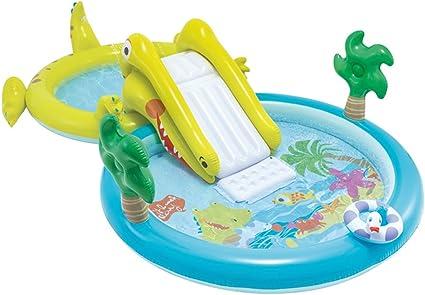 Intex 57164NP - Centro de juegos acuático con tobogán, dos ...
