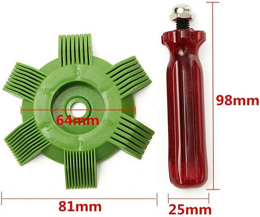 Alextry Air Conditioner Fin Comb Condenser Radiator Repair Scum Dust Cleaner Tool