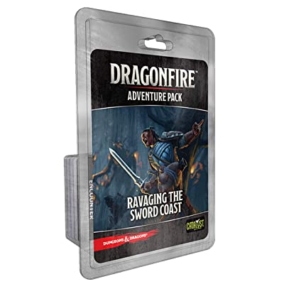 Catalyst Game Labs Dragonfire Adventures Ravaging The Sword Coast: Toys & Games
