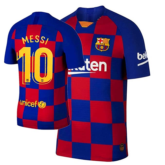 Amazon.com: New Messi #10 Barcelona Home 2019/2020 ...