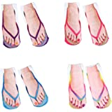 18e6889208070 Ginger Fox Novelty Flip Flop Socks One Size  Amazon.co.uk  Sports ...