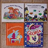 Set of 4 Weekly Reader Picture Books (My Dog Never Says Please w/Audio CD ~ Officer Buckle and Gloria w/Audio CD (Caldecott Book) ~ Nana Hannah's Piano ~ Gregory, The Terrible Eater (Reading Rainbow Book))
