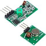 Ociodual Conjunto Receptor + Emisor inalambrico Arduino 433Mhz RF EL0605 EL0613