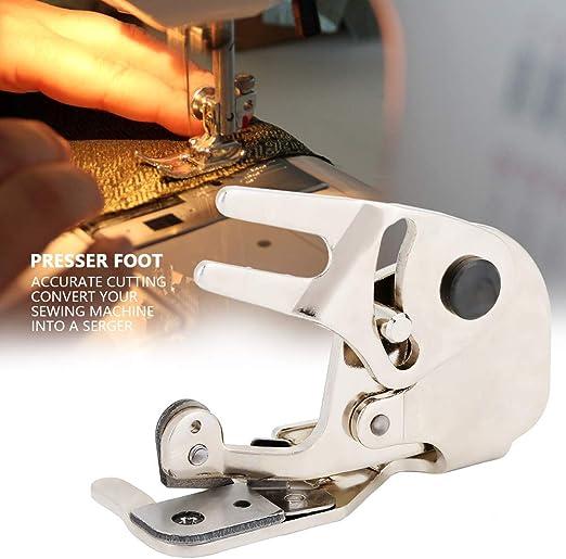 Pie de costura, cortador lateral CY-20 Prensatelas de acero ...