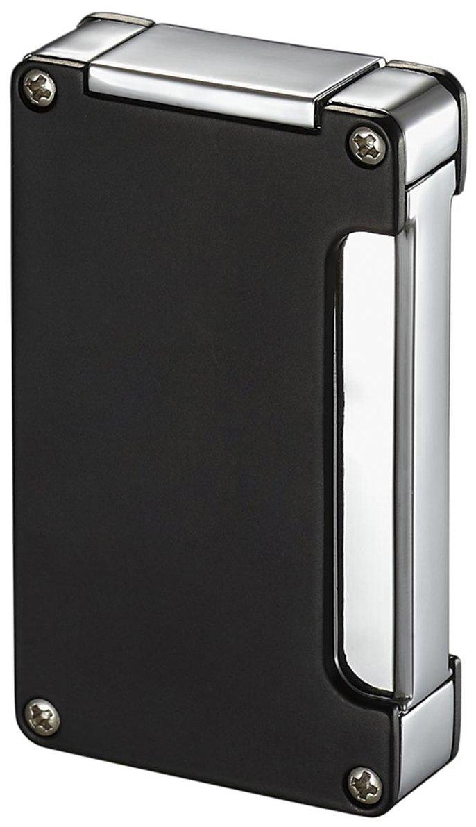 Visol Zidane Black Matte Cigar Lighter with Built-in Cigar Punch by Visol (Image #1)