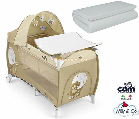 Lettino campeggio bambini (offerte a pacchetto) (Daily + materasso ...