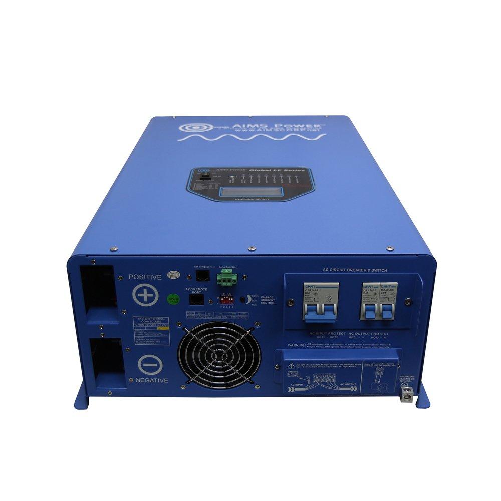 Amazon aims power 10000 watt 48 vdc 120240 vac split phase amazon aims power 10000 watt 48 vdc 120240 vac split phase pure sine inverter charger automotive publicscrutiny Choice Image