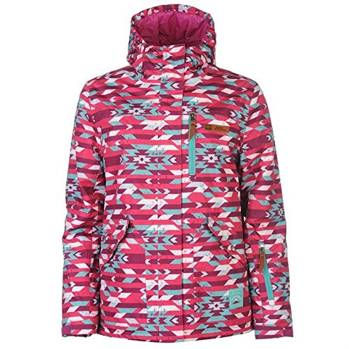 No Fear Mujer Park Nieve Chaqueta Señoras Impermeable Top ...