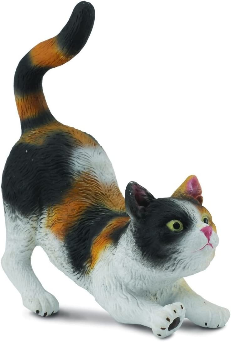 Collecta 3-Color House Cat (Stretching)