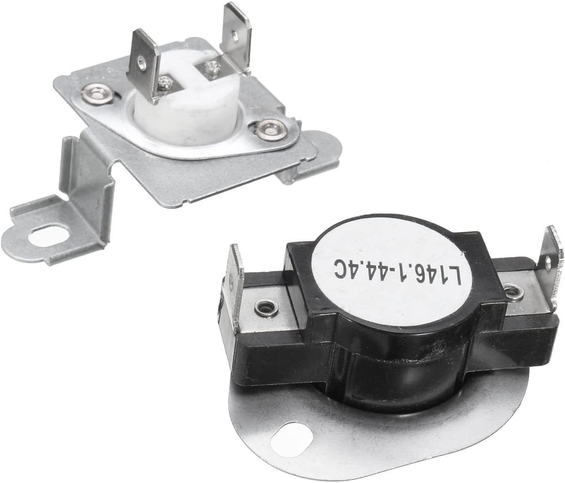 Siwdoy 279973 Dryer Thermal Cut-Off Fuse & Thermostat Kit Compatible with Whirlpool Maytag - Replaces 279973, 3391913, 8318314, AP3094323