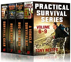 This boxed set contains volumes 6-9 from the Practical Survival Series written by veteran survival instructor and bestselling author Tony Nester. Survival Gear You Can Live With: A quality survival kit is one of the critical keys in prevailin...