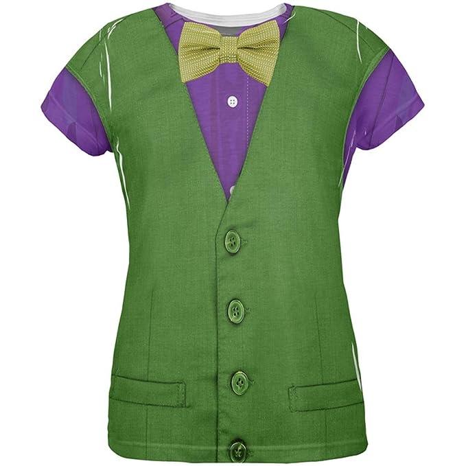 Amazon.com: Mardi Gras verde y morado chaleco disfraz de ...
