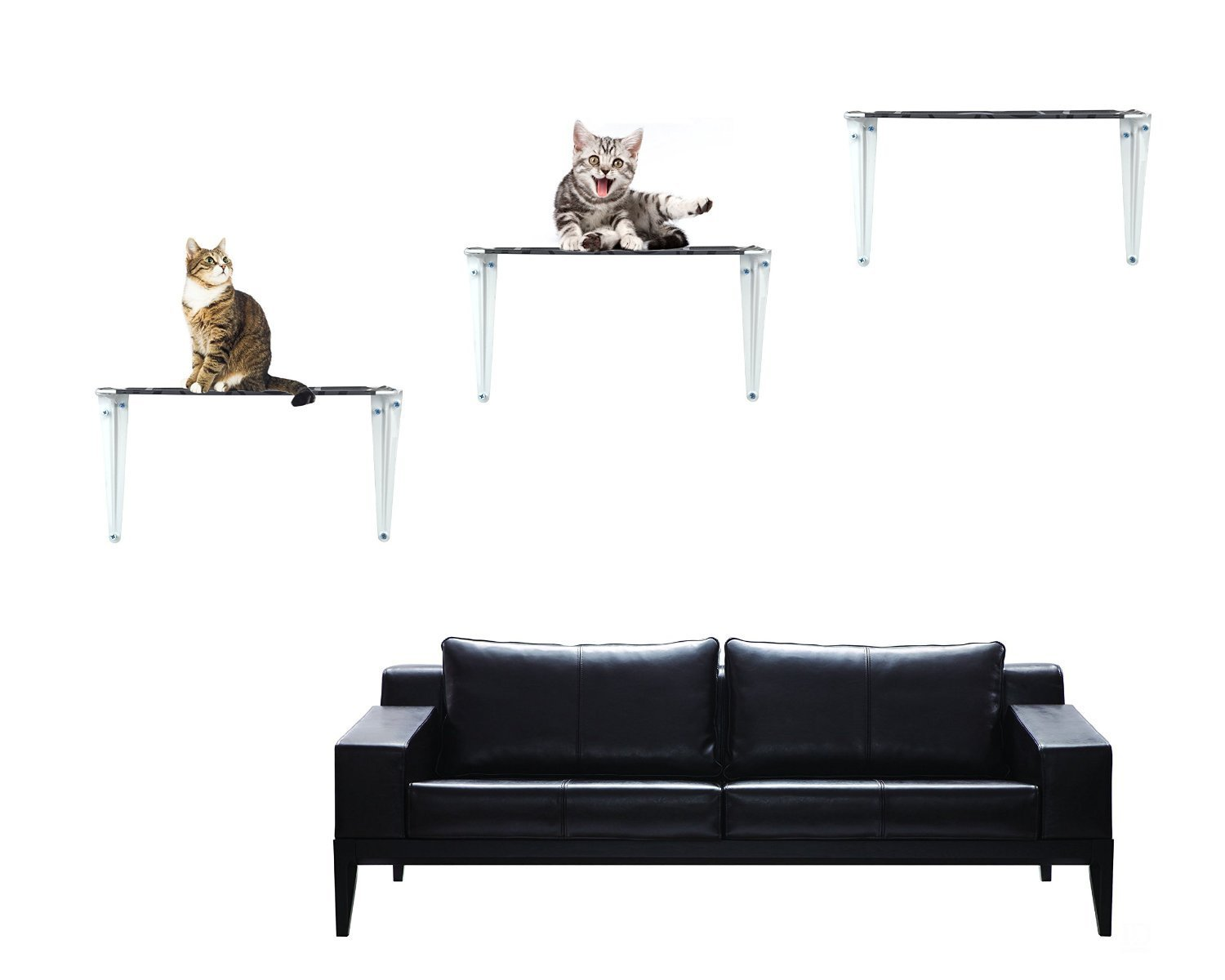 Amazon raycc cat shelves cat tree cat wall shelves for amazon raycc cat shelves cat tree cat wall shelves for climbing sleeping and exercisingset of 3 small pet supplies amipublicfo Image collections