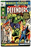 MARVEL FEATURE #1-First appearance THE DEFENDERS HULK SUB-MARINER DR. STRANGE.