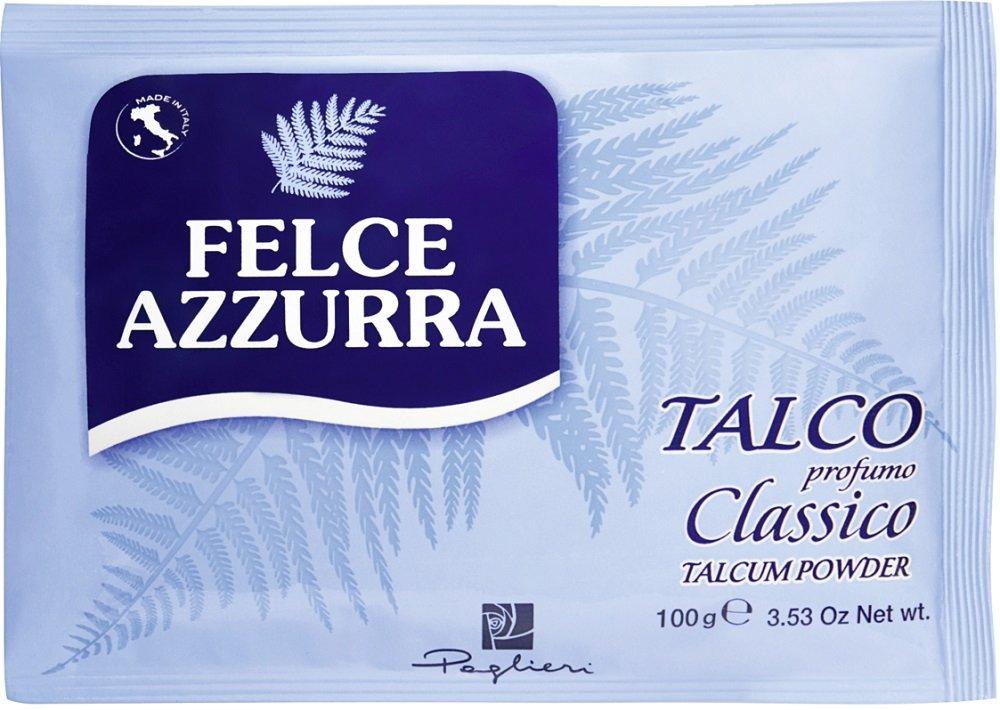 Felce Azzurra corpo polvere Beutel, pacco da (12X 100G) 3159