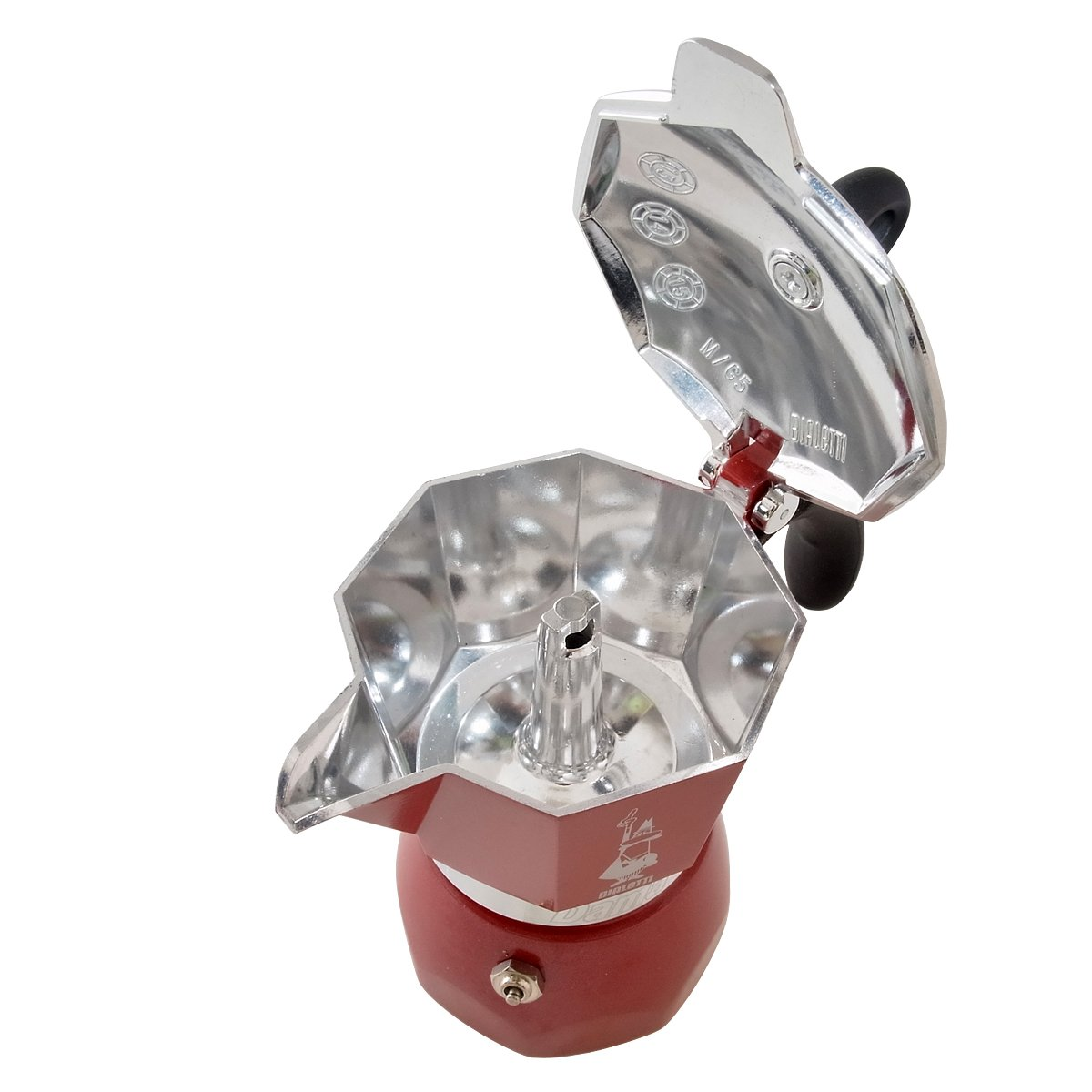 Bialetti: Dama Glamour Espresso Maker - 3 Cups in Red