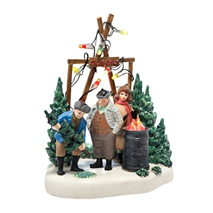 department 56 christmas story village the perfect tree accessory figurine