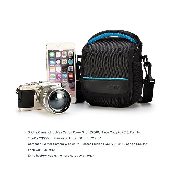 Cámara Hombro llevar caso bolsa para Canon PowerShot SX420IS SX540HS G3X