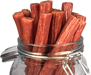 product image for Mission Meats Keto Free Range Turkey Jerky Sticks Gluten Free, Sugar Free, Nitrate Free, No MSG Paleo Snacks Healthy Natural Meat Sticks, Original Turkey 72 pack