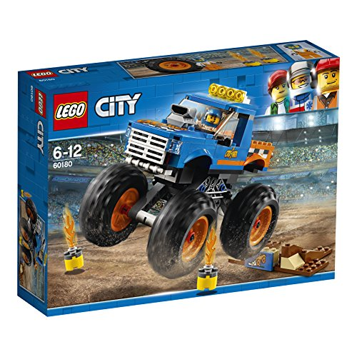 LEGO City Great Vehicles Monster Truck Toy, Vehicle Construction Sets for Kids