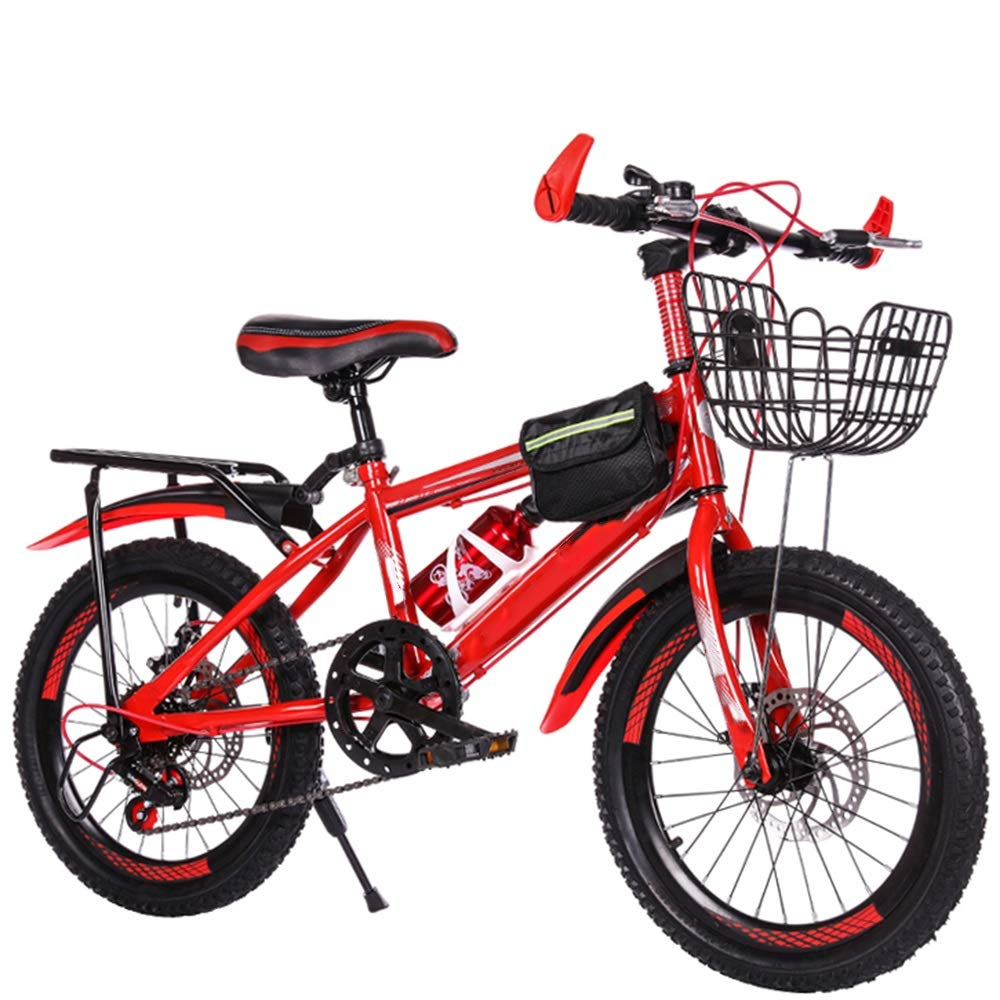 【2018A/W新作★送料無料】 Axdwfd 子ども用自転車 Red 20インチキッズバイク Axdwfd B07PQXVKRB、6-11歳の男の子と女の子のための高炭素鋼子供の自転車ギフト Red B07PQXVKRB, ブランド品専門の:9216e6e6 --- senas.4x4.lt