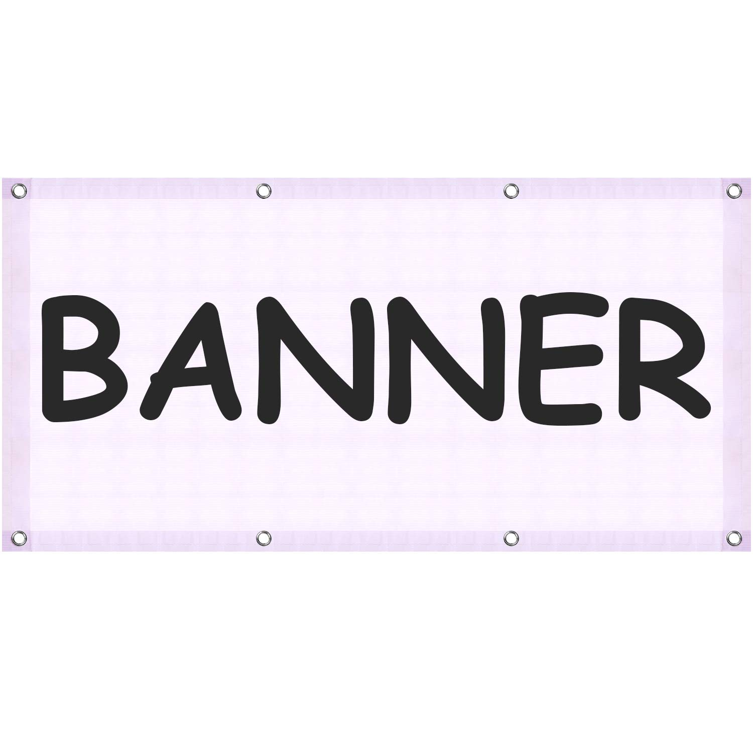 Amazon.com: Blank Banner 24 x 48 inches Large Blank Banner ...