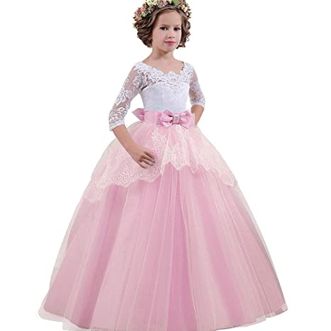 Vestido De Fiesta Para Niñas Vestido De Boda De Princesa