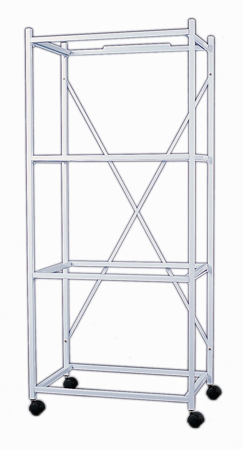 Yml 4 Shelves Stand for 4134WHT, White
