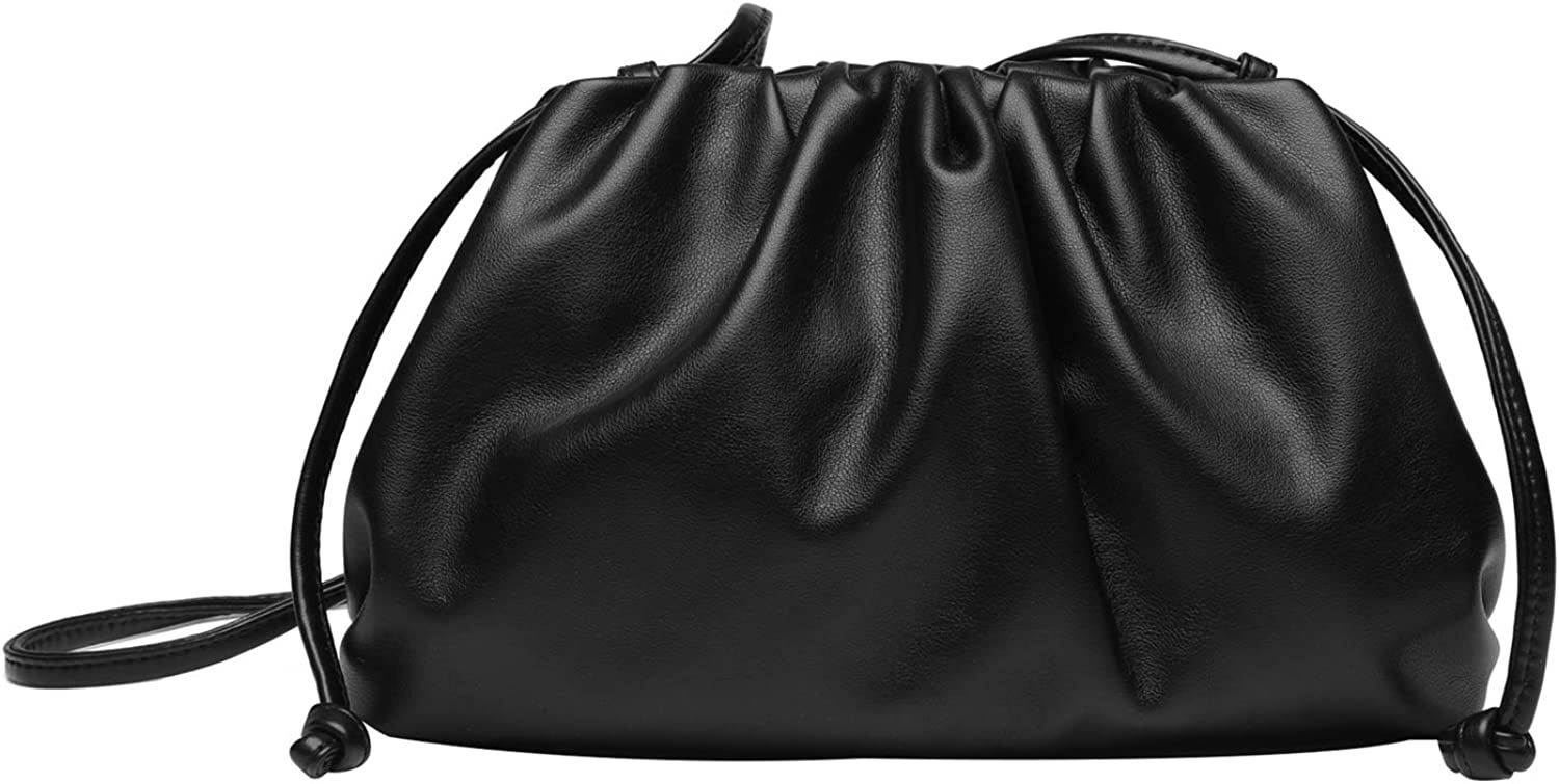 IVIKER Cloud Clutch Purses for Women,Dumpling Crossbody Shoulder Bags Evening Bags for Ladies