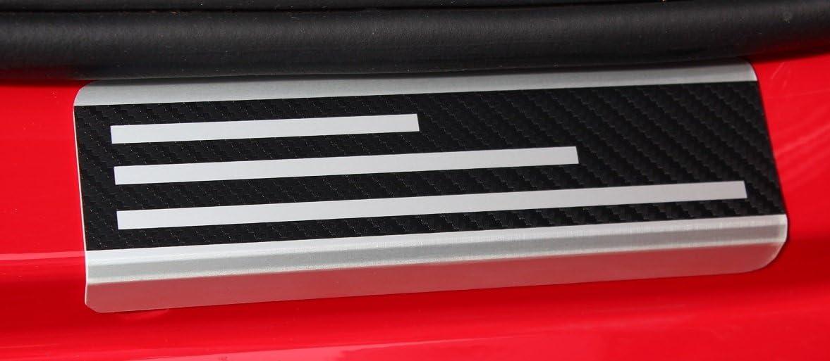 AluNox-CARBON Einstiegsleisten mit Abkantung T/ürschweller VS-Sport