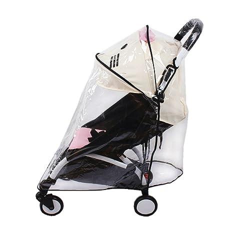 Universal funda impermeable para bebé cochecito lluvia paraguas cochecito viento polvo Escudo cover para carritos,
