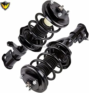 MOSTPLUS 172136 Full Complete Strut Assemblies With Springs and Mounts Fits 2003-2011 Honda Element Set of 4