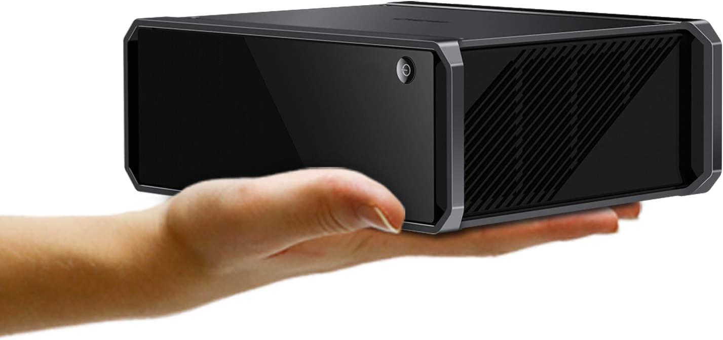 CHUWI CoreBox Pro Desktop Mini PC, 10th Gen Intel Core i3-1005G1, 12 GB RAM 256 GB PCIe, Windows 10 Tower Computer Support 4K Video Decoding, Gigabit Ethernet, WiFi-6 BT5.1, 2.5inch HDD Expandable 2TB