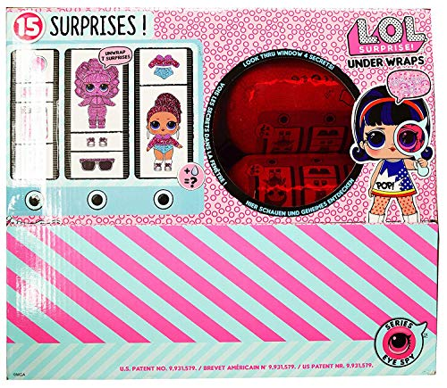 LOL Surprise! Innovation Series 4 Wave 1 Underwraps Dolls - Full Set of 12 in Display Case