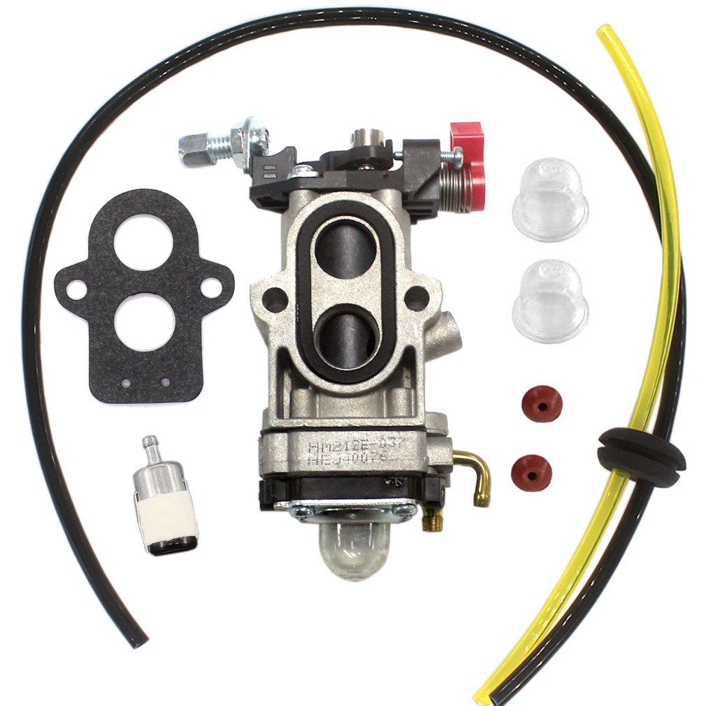 Aisen Carburetor Carb Gasket Check Valve Fuel Line Redmax Filter For Wya 79 Husqvarna 350bt 150bt Backpack Blower Garden Outdoor